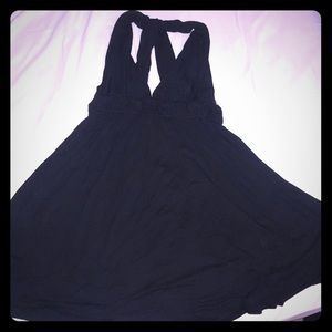 Forever 21 black swimsuit cover up